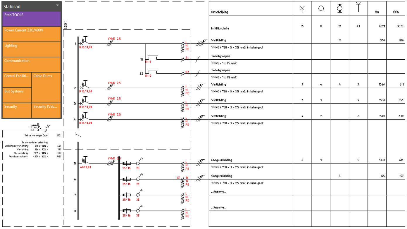 Hervorragend Erstellen elektrischer Schaltpläne VD73